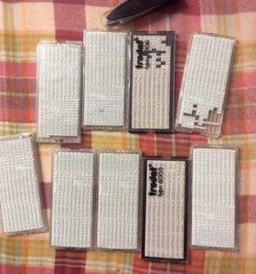 Набор букв для самонаборных печатей