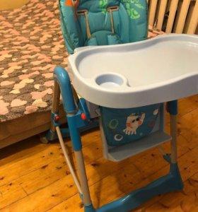 Детский стульчик со столиком!