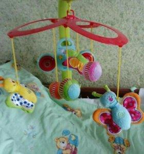 Мобиль taf toys и коврик