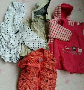 Детская одежда пакетом для девочки