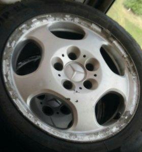R 16 диски с резиной мерседес