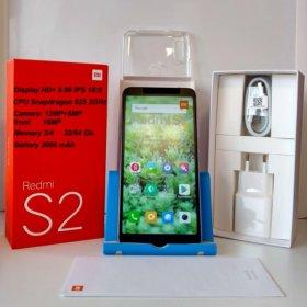 Новые Xiaomi Redmi S 2 3/32 Gb Grey, Gold