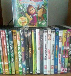DVD диски с записью, цена за все диски