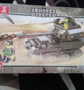 Конструктор танк Т90, нераспакованный