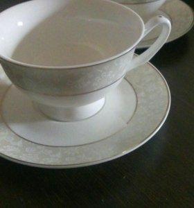 Набор чайных пар(чашка с блюдцем)