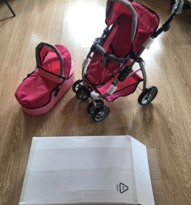 Новая коляска для куклы 2 в 1