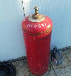 Заправленный газовый балон 50 л