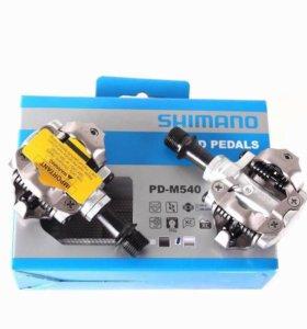 Контактные педали SPD Shimano M 540