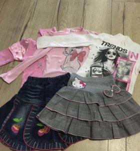 Одежда для девочки 7 лет