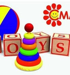 Продавец-кассир в оптовую базу игрушек