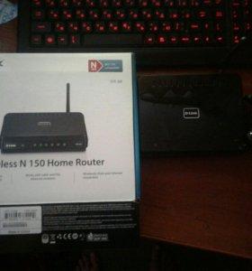 Wi-Fi роутер D-Link 300 (150 mbps)
