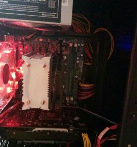 i7, GTX 750ti, 8gb озу. Бюджетный игровой компьюте