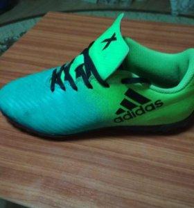 Сороконожки Adidas 35р