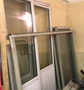 Балконные двери и окна ПВХ
