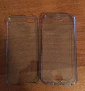 Двухсторонний чехол на iPhone 5s и SE
