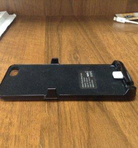 Дополнительная АКБ крышка для iPhone 5,5s,6
