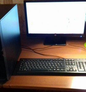 Системный блок, клавиатура,монитор,мышка,удлинител