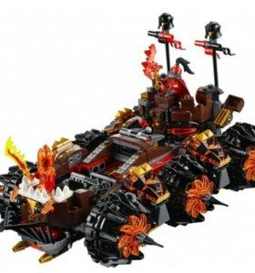 Лего Роковое наступление генерала магмара