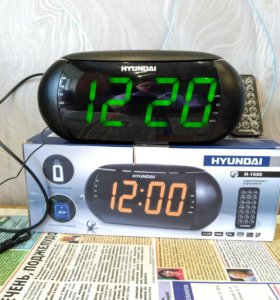 """Часы-будильник с радиоприемником'' Hyundai H-1550"""""""