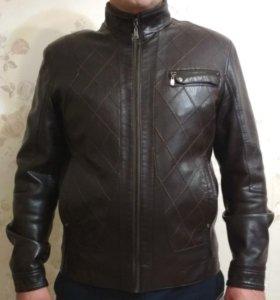 Мужская куртка (эко кожа)