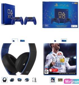 PS4 + одна дет. Игра