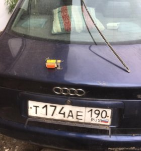 Ауди А4 крышка багажника