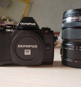 Камера Olympus OM-D E-M10 kit 12-50mm
