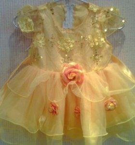 Праздничное платье и костюмчик