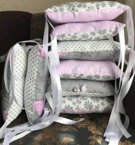 Бортики подушки новые
