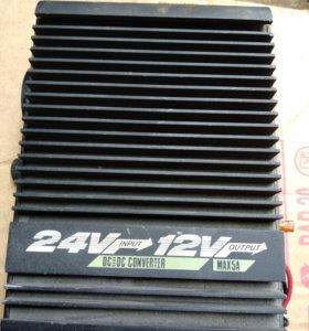 Преобразователь с 24v на 12v DC505