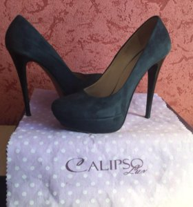 Туфли Calipso Luxe из натуральной замши