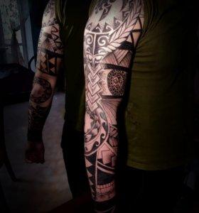 Татуировка и изготовление эскизов