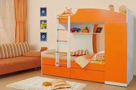 Двухъярусная кровать (Цвет светло коричневый)