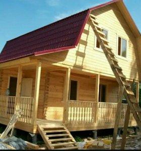 Ремонт и строительство домов, бань из дерева