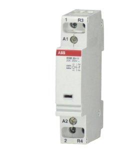 Контактор модульный ABB ESB 20-11