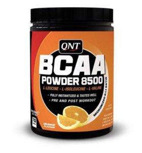 Аминокислоты QNT BCAA Powder 8500 (апельсин)