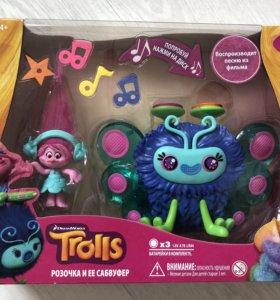 Новый набор Trolls Поппи и диджей Баг, Hasbro