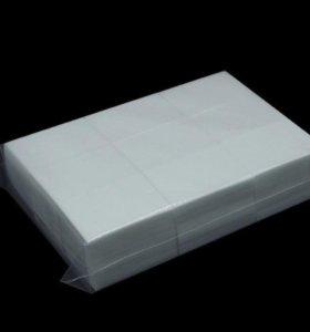 Безворсовые салфетки для маникюра 1000 штук