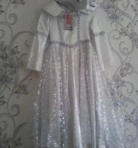 Платье снежной королевы