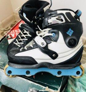 Ролики USD Carbon Powerblading Skates