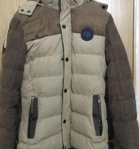 Куртка парка зимняя мужская размер 54 xxxl