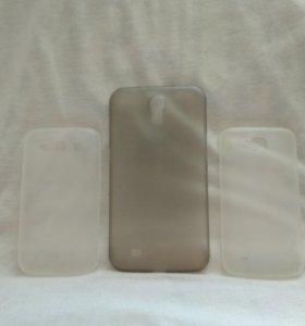 Чехол и стекло на Samsung