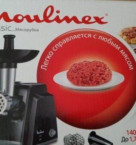 Мясорубка Moulinex новая