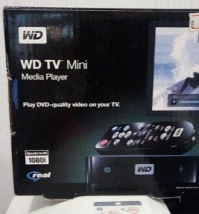 Медиаплеер WD tv Live новый