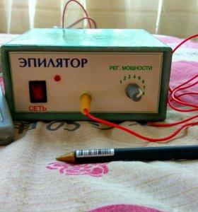 Игольчатый электроэпилятор