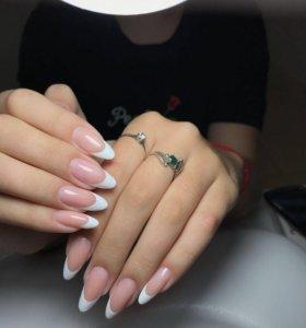 Шилак, наращивание ногтей, педикюр