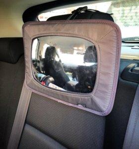 Зеркало контроля за ребёнком в машине