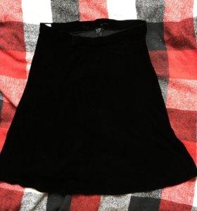 Бархатная юбка GAP