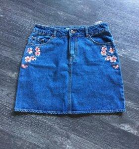 Юбка джинсовая джинсы