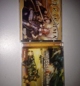 2 диска с играми дилемма и universal combat